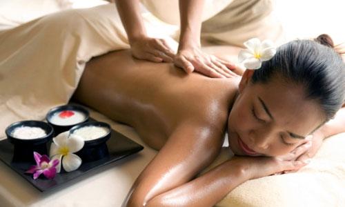 Thai olie massage